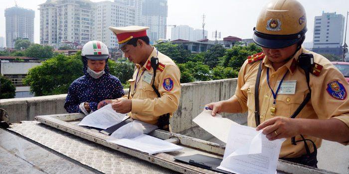 Những lỗi vi phạm giao thông được nộp phạt tại chỗ